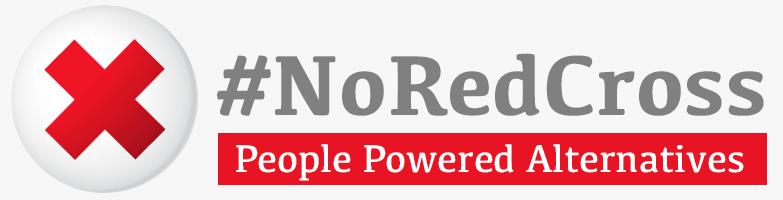 #NoRedCross